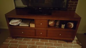Cherry wood TV stand for Sale in Middleburg, VA