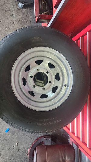 205/75R15 Trailer Rim & Tire forsale (6Lug) for Sale in Fort Lauderdale, FL