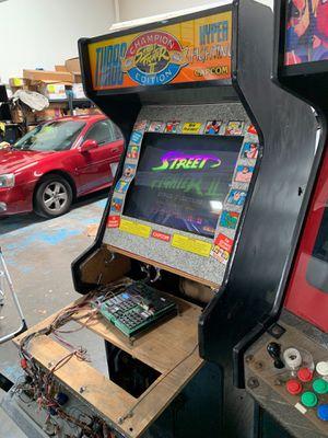 Original street fighter 2 champion Hyper fighting Arcade video game for Sale in Yorba Linda, CA