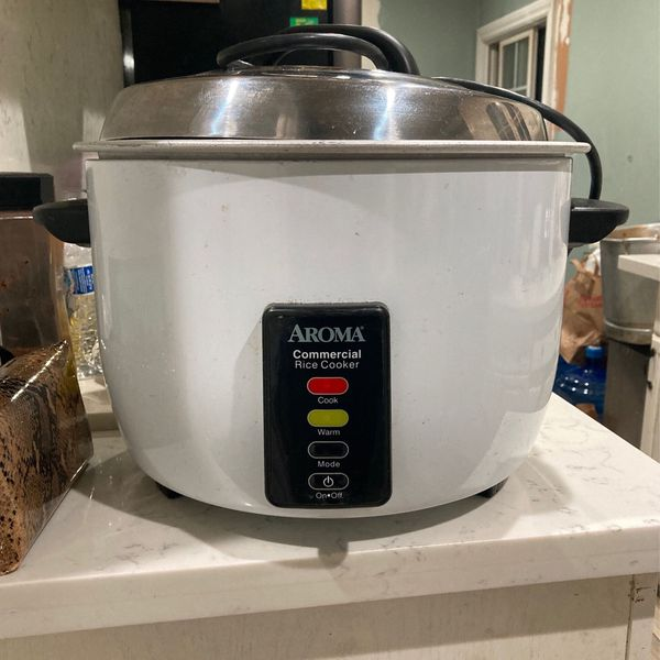 Aroma Commercial Rice Cooker And Heater