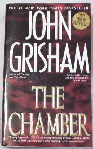 John Grisham The Chamber Book for Sale in Ripley, WV