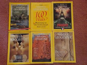 Collection of National Geographic Magazines for Sale in Glastonbury, CT