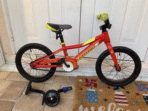 16in Cannondale kids bike with training wheels. Practically new for Sale in Fort Lauderdale, FL