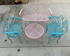 Vintage kids outdoor furniture for Sale in Los Angeles, CA