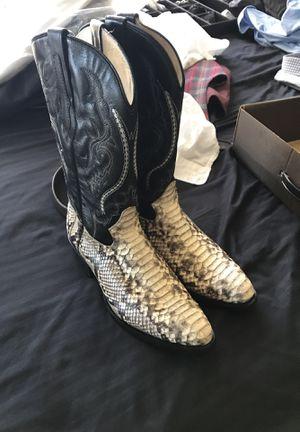 Snakeskin boots — good condition for Sale in Orlando, FL
