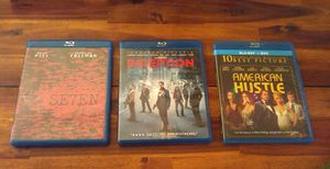 3 Blu-ray movie bundle for Sale in Seattle, WA