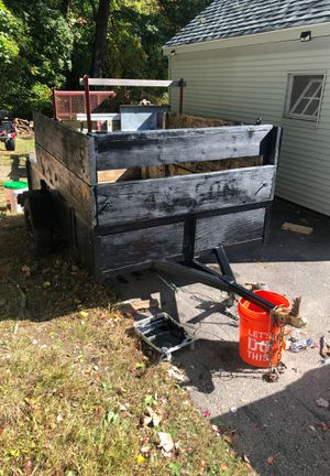 Homemade utility trailer for Sale in Hopedale, MA