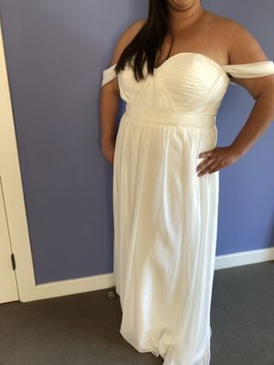 WEDDING DRESS CHIFFON for Sale in Chagrin Falls, OH