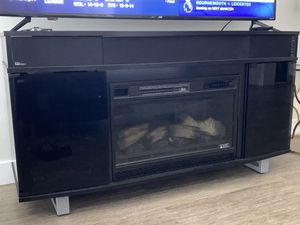 Bell'o TV stand Cabinet with Electric fireplace for Sale in Los Angeles, CA