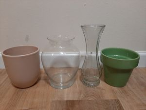 vase and planting pot for Sale in Seattle, WA