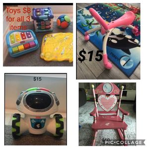 Kids toys and chair for Sale in Boca Raton, FL