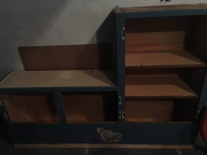 Solid wood cabinet storage shelves for Sale in Matthews, NC