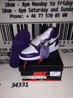 Jordan 1 purple court for Sale in Orlando, FL