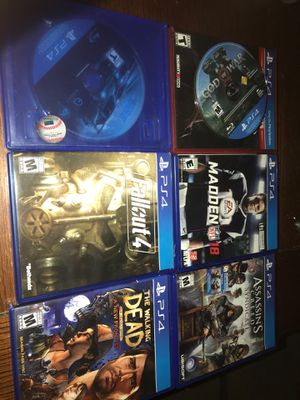 Ps4 games for Sale in Winter Haven, FL