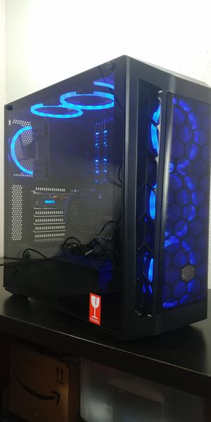 Custom RGB Gaming PC Plays Fortnite + Apex + More i5 4670k, RX 480, 16GB Ram, SSD, 2TB for Sale in Los Angeles, CA