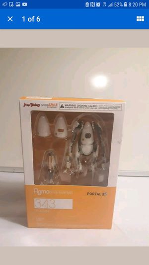 Entertainment Earth Portal 2 P-Body Figma Action Figure Collectible Goodsmile for Sale in Los Angeles, CA