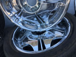 4. 20 rims and tires for Sale in Fresno, CA