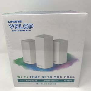 Linksys velop AC4600 whole home WIFI system for Sale in Sewickley, PA