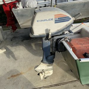 6 Hp Evinrude Outboard Motor Only for Sale in Orlando, FL