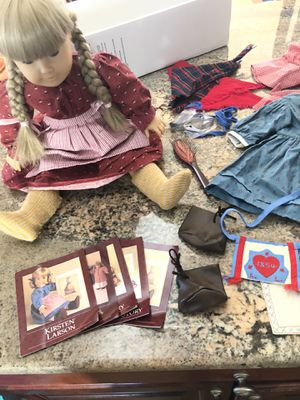 Kirsten Larson retired American girl doll with extras for Sale in Attleboro, MA