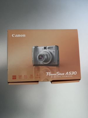 Canon Powershot A530 Digital Camera for Sale in Orland Park, IL