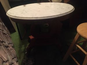 Small marble top table. for Sale in Ware Shoals, SC