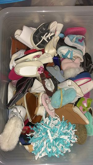 American girl doll Shoes box full!! for Sale in Costa Mesa, CA