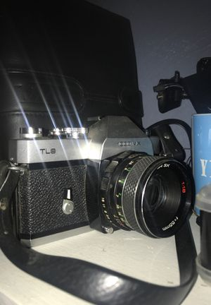 Vintage camera with leather strap for Sale in Orlando, FL