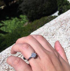1.03 Brilliant Round Cut Diamond Engagement Wedding Ring 14k Gold for Sale in Las Vegas, NV