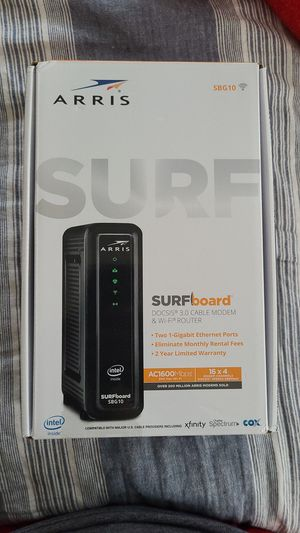 Cable modem an Wi-Fi router for Sale in City of Industry, CA