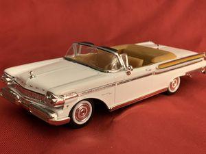 New 1957 Mercury Turnpike Cruiser White 1/43 Diecast Model Car for Sale in Danbury, CT