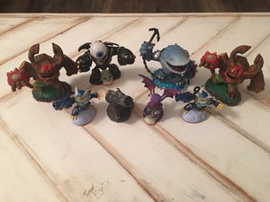8 Skylanders Giants Characters for Xbox 360, PS3, Nintendo 3DS, Wii, Wii U for Sale in Brentwood, CA