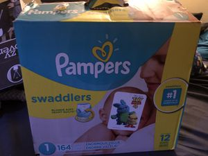 Pampers swaddlers for Sale in Thornton, CO