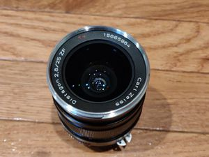 Zeiss 25mm f/2.8 lens Nikon mount for Sale in Palos Hills, IL