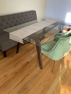 Dining table and Banquette for Sale in Nashville, TN
