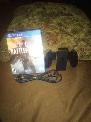 Nintendo switch controller battlefield 1 for PS4 and a PS2 cord all for $15 for Sale in Bakersfield, CA