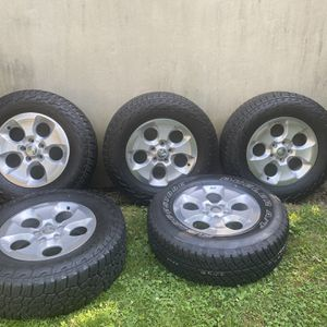 Jeep Wrangler Wheels And Tires for Sale in Harrisburg, PA