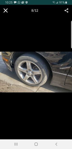 2002 Lexus GS430 rims and tires for Sale in Tampa, FL