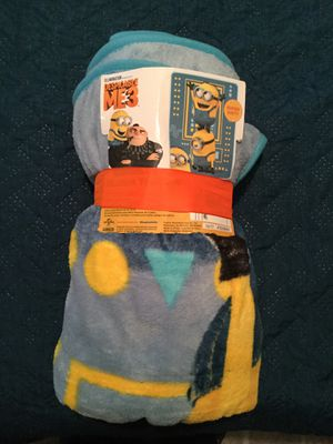 Despicable Me 3 , Minion Blanket for Sale in Gardena, CA