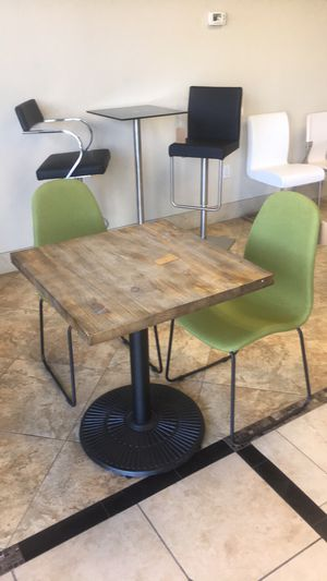 "Vintage 28"" Square Bistro Table, Weathered for Sale in Scottsdale, AZ"