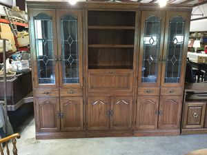 3 piece lighted hutch for Sale in Loup City, NE