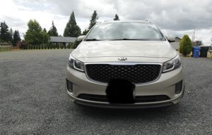 2015 Kia Sedona mini van for Sale in Rochester, WA