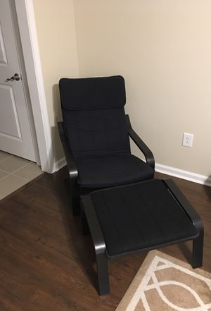 IKEA Poang Chair and Ottoman for Sale in Nashville, TN