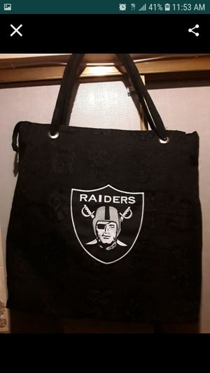 Raiders bag for Sale in South Gate, CA