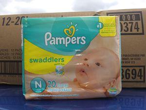 Newborn 12 packs of 20 for Sale in Garland, TX
