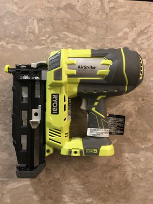 RYOBI nail gun, no battery. New. Used once. $100 for Sale in Los Angeles, CA