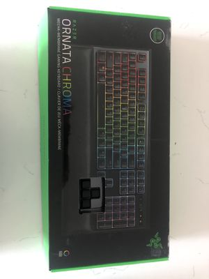 Razor Ornata Chroma Gaming Keyboard for Sale in Pleasanton, CA