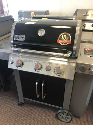 Weber Grill 🙈⏰⏰✔️⚡️🍂🍂🔥😀🙈⏰✔️⚡️🍂🔥😀 FIMUA for Sale in Spring, TX