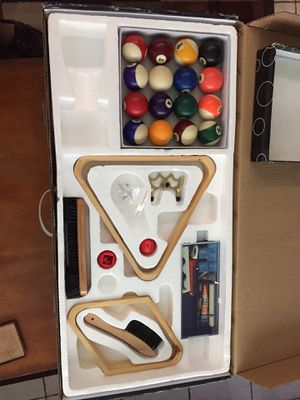 Billiard Accessories Kit for Sale in North Lauderdale, FL