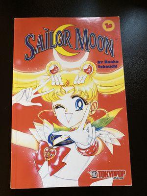 Sailor Moon Vol. 10 Manga Naoko Takeuchi for Sale in Charlottesville, VA